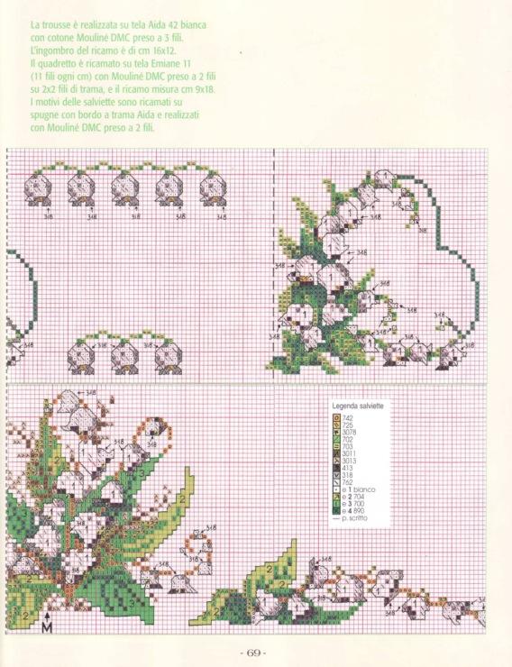 Схемы вышивок журнал сюзанна 1